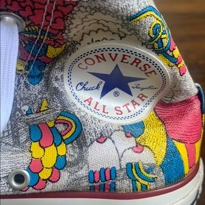 Chuck Taylor painted rare high-tops jigaram